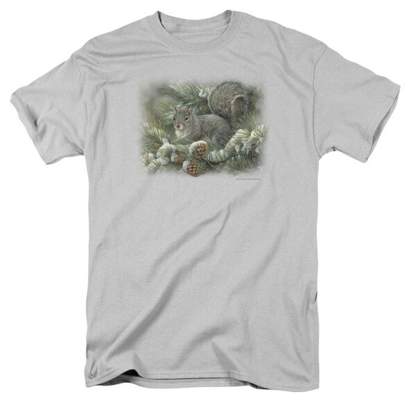 Wildlife Gray Squirrel Short Sleeve Adult T-Shirt