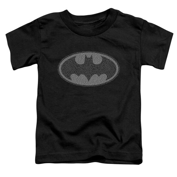 Batman Elephant Signal Short Sleeve Toddler Tee Black T-Shirt