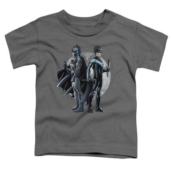 BATMAN SPOTLIGHT - S/S TODDLER TEE - CHARCOAL - T-Shirt