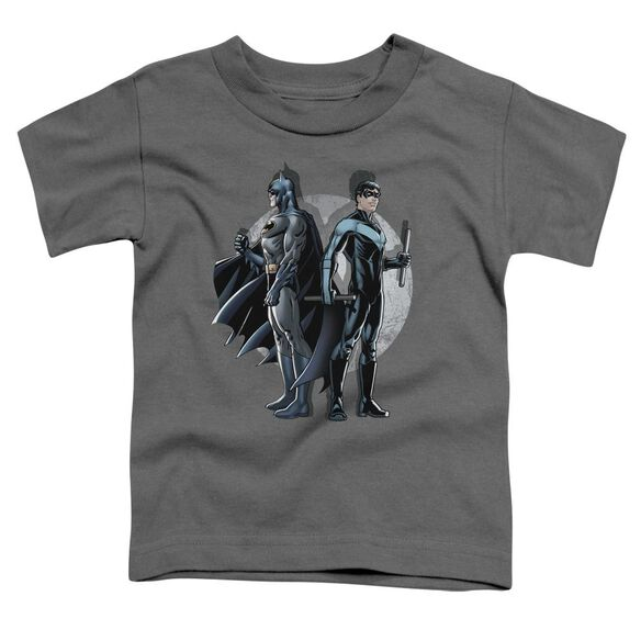 Batman Spotlight Short Sleeve Toddler Tee Charcoal Lg T-Shirt