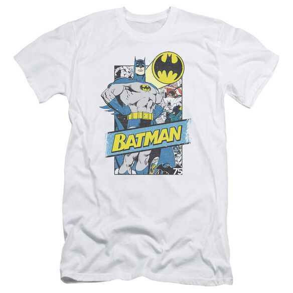 Batman Out Of The Pages Short Sleeve Adult T-Shirt