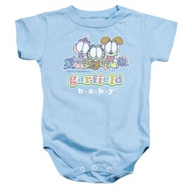 Garfield Baby Gang Infant Snapsuit Light Blue Md