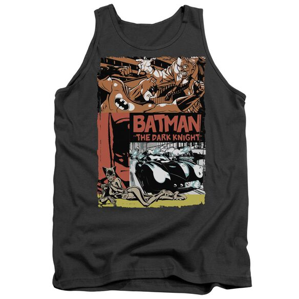 Batman Old Movie Poster Adult Tank