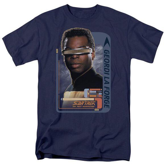 Star Trek Geordi Laforge Short Sleeve Adult T-Shirt