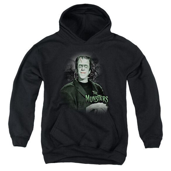 The Munsters Man Of The House Youth Pull Over Hoodie