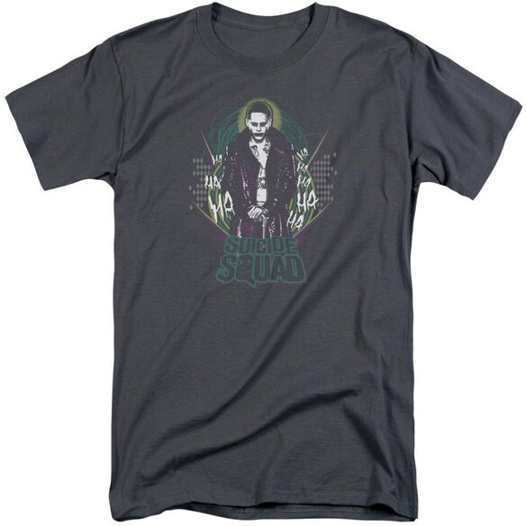 Suicide Squad Suicide Joker Short Sleeve Adult Tall T-Shirt