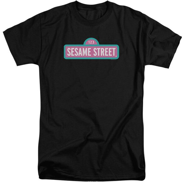 Sesame Street Alt Logo Short Sleeve Adult Tall T-Shirt