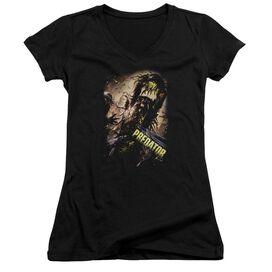 Predator Heads Up Junior V Neck T-Shirt