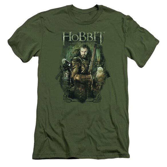 Hobbit Thorin And Company Short Sleeve Adult Military T-Shirt