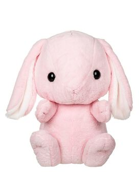 Pink Bunny Kawaii Plush