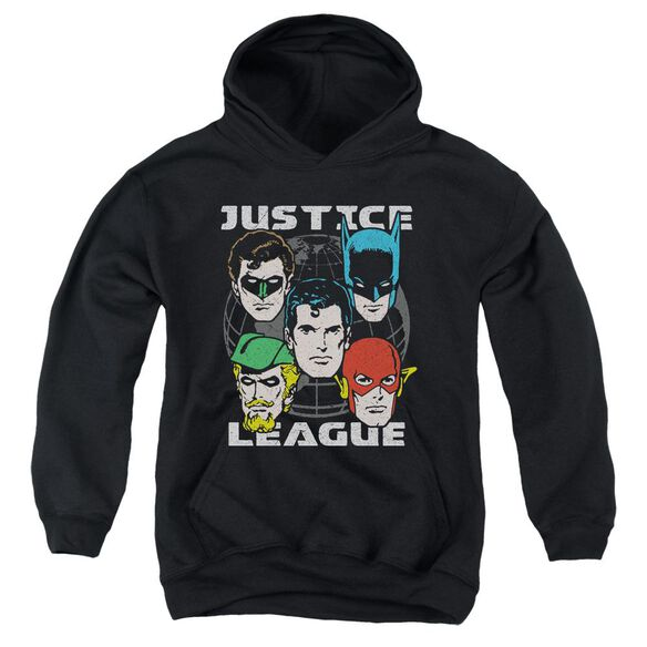Jla Head Of States Youth Pull Over Hoodie