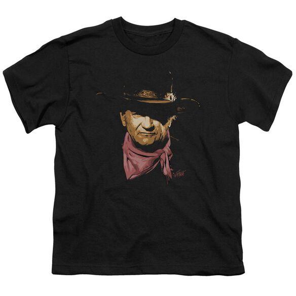 John Wayne Splatter Short Sleeve Youth T-Shirt