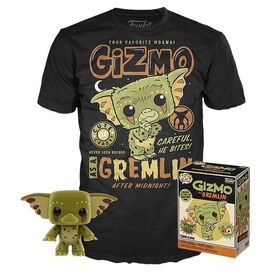 Funko Pop! Gizmo As a Gremlin Pop & Tee Combo