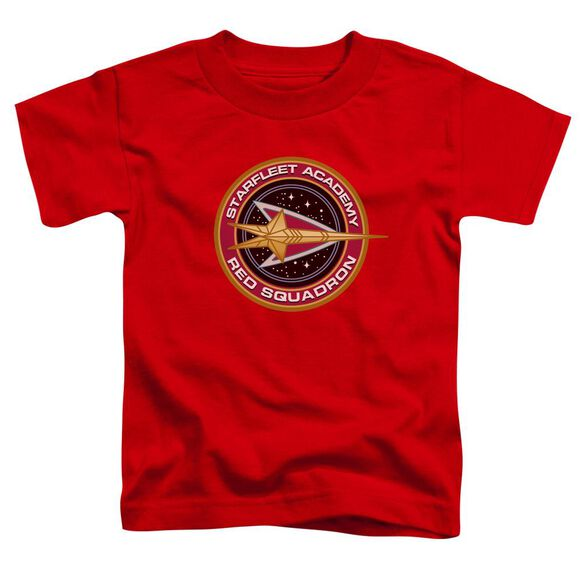 Star Trek Red Squadron Short Sleeve Toddler Tee Red Md T-Shirt