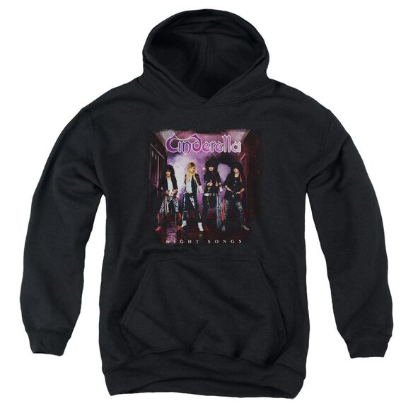 Cinderella Night Songs Youth Pull Over Hoodie