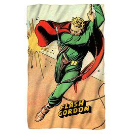 Flash Gordon Space Fleece Blanket