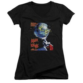 Killer Klowns From Outer Space Invaders Junior V Neck T-Shirt