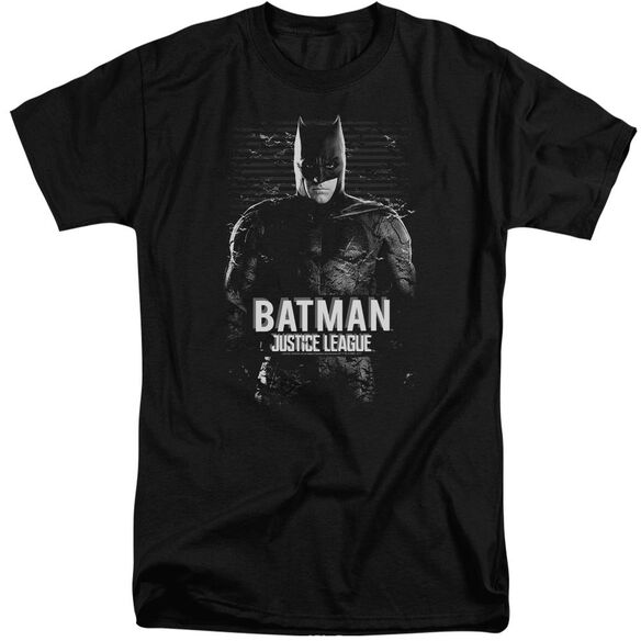 Justice League Movie Batman Short Sleeve Adult Tall T-Shirt