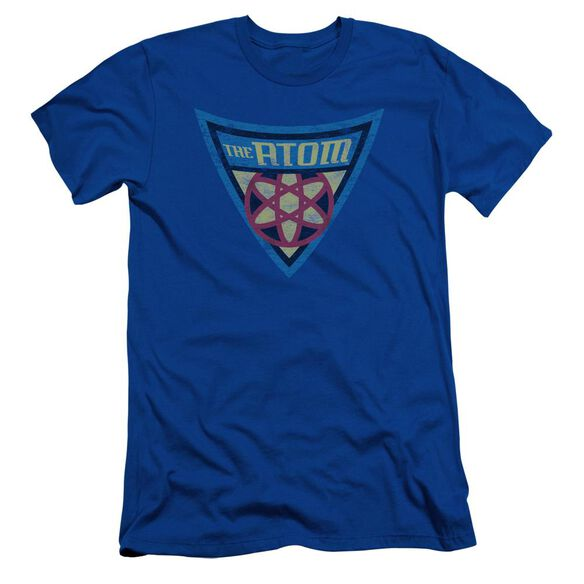 Batman Bb The Atom Shield Short Sleeve Adult Royal T-Shirt