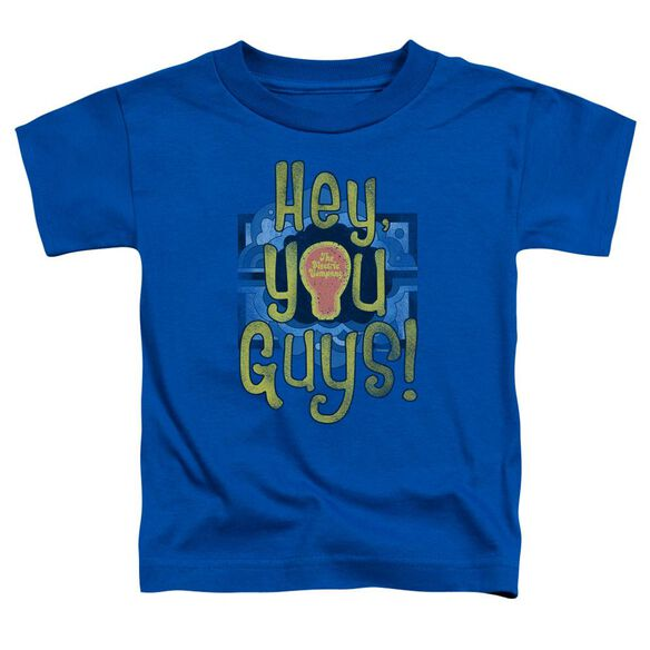 Electric Company Hey You Guys Short Sleeve Toddler Tee Royal Blue T-Shirt