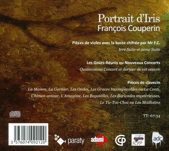 Portrait D'iris: Suites For Viola Da Gamba (Dig)