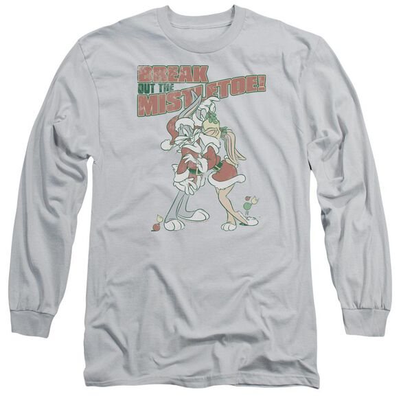 Looney Tunes Mistletoe Long Sleeve Adult T-Shirt