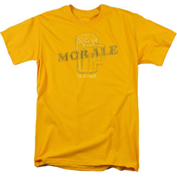 Morale Is Good Short Sleeve Adult T-Shirt