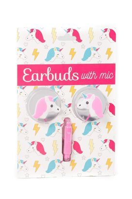 Unicorn Earbuds with microphone