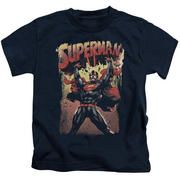 Superman Lift Up Short Sleeve Juvenile T-Shirt
