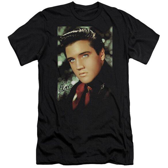 Elvis Red Scarf Short Sleeve Adult T-Shirt