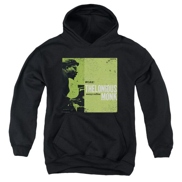 Thelonious Monk Work Youth Pull Over Hoodie