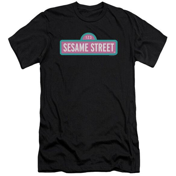Sesame Street Alt Logo Premuim Canvas Adult Slim Fit