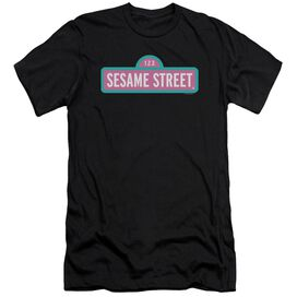 Sesame Street Alt Logo Short Sleeve Adult T-Shirt