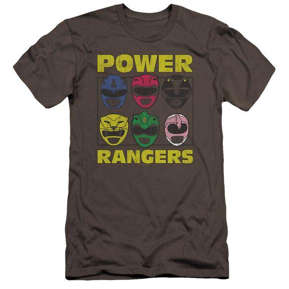 Powr Rangers Ranger Heads Premuim Canvas Adult Slim Fit