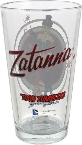 Zatanna Bombshell Toon Tumbler Pint Glass