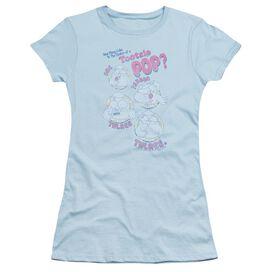 Tootsie Roll Three Short Sleeve Junior Sheer Light T-Shirt