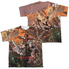 Zenoscope Neverland (Front Back Print) Short Sleeve Youth Poly Crew T-Shirt