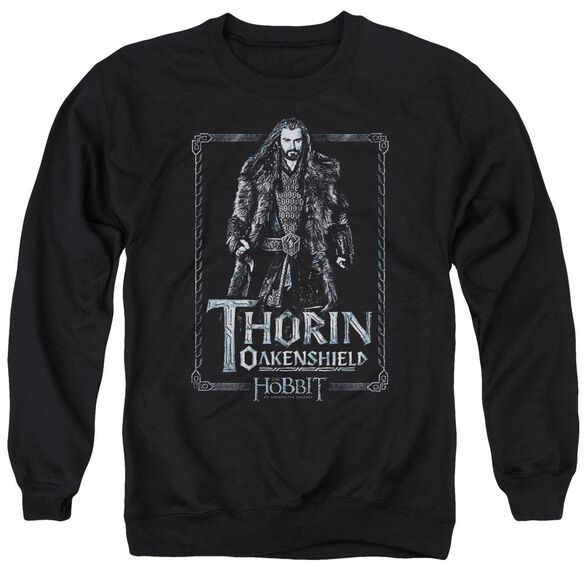 The Hobbit Thorin Stare Adult Crewneck Sweatshirt