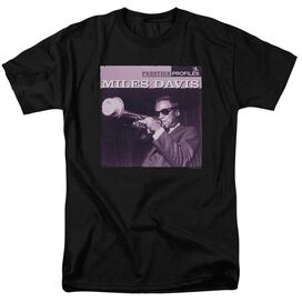 Miles Davis Prince Short Sleeve Adult T-Shirt