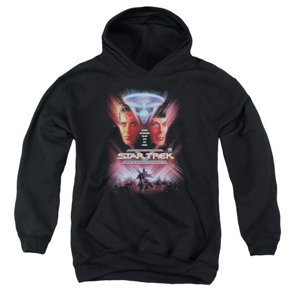 Star Trek The Final Frontier(Movie) Youth Pull Over Hoodie