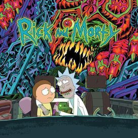 Various Artists - Rick and Morty [Exclusive 2LP Dark Green & Purple Vinyl]