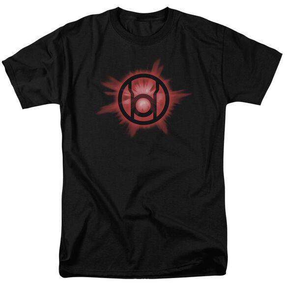 Green Lantern Red Glow Short Sleeve Adult T-Shirt