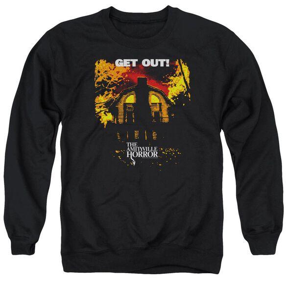 Amityville Horror Get Out Adult Crewneck Sweatshirt