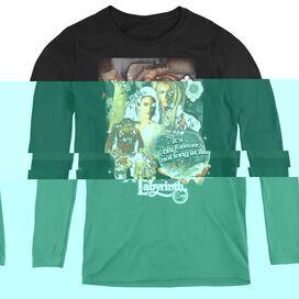 Labyrinth 25 Years Of Magic - Womens Long Sleeve Tee - Black