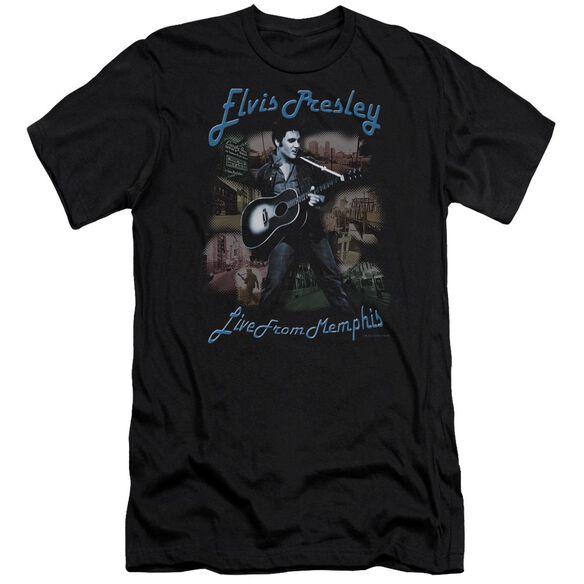 Elvis Memphis Short Sleeve Adult T-Shirt