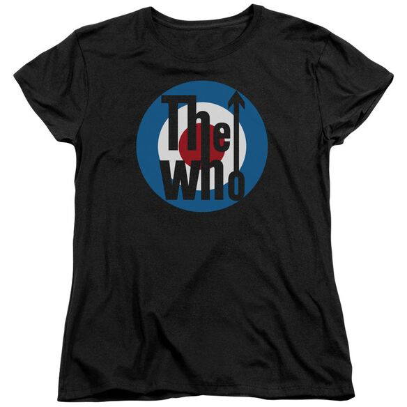 The Who Logo Short Sleeve Women's Tee T-Shirt
