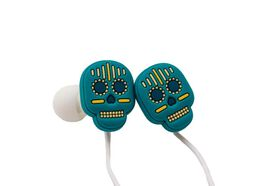 Sugar Skull Earbuds with microphone