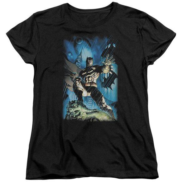 Batman Stormy Dark Knight Short Sleeve Womens Tee T-Shirt