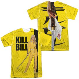 Kill Bill Poster (Front Back Print) Short Sleeve Adult Poly Crew T-Shirt