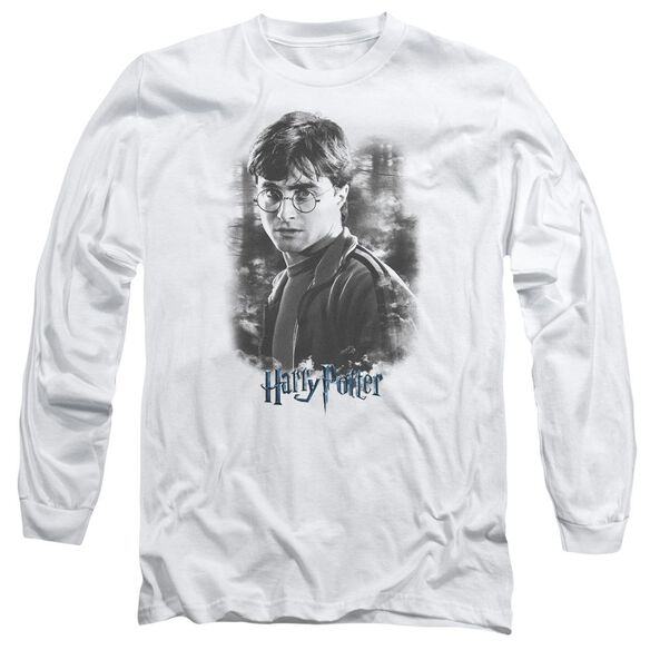 Harry Potter Harry In The Woods Long Sleeve Adult T-Shirt